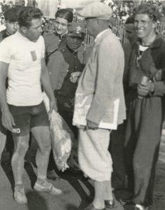 Giro d'Italia 1934: Giuseppe Ambrosini con Learco Guerra