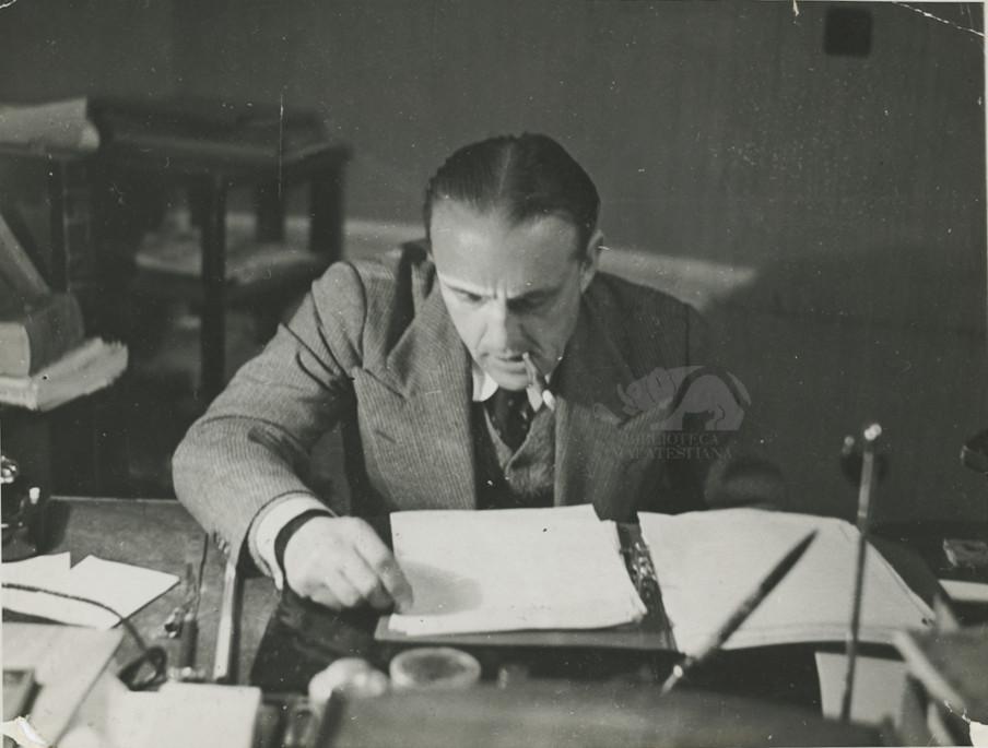 """Mio ufficio a """"la Stampa"""" 1935"""