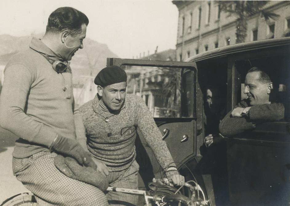 Con Guerra e Bovet 1925