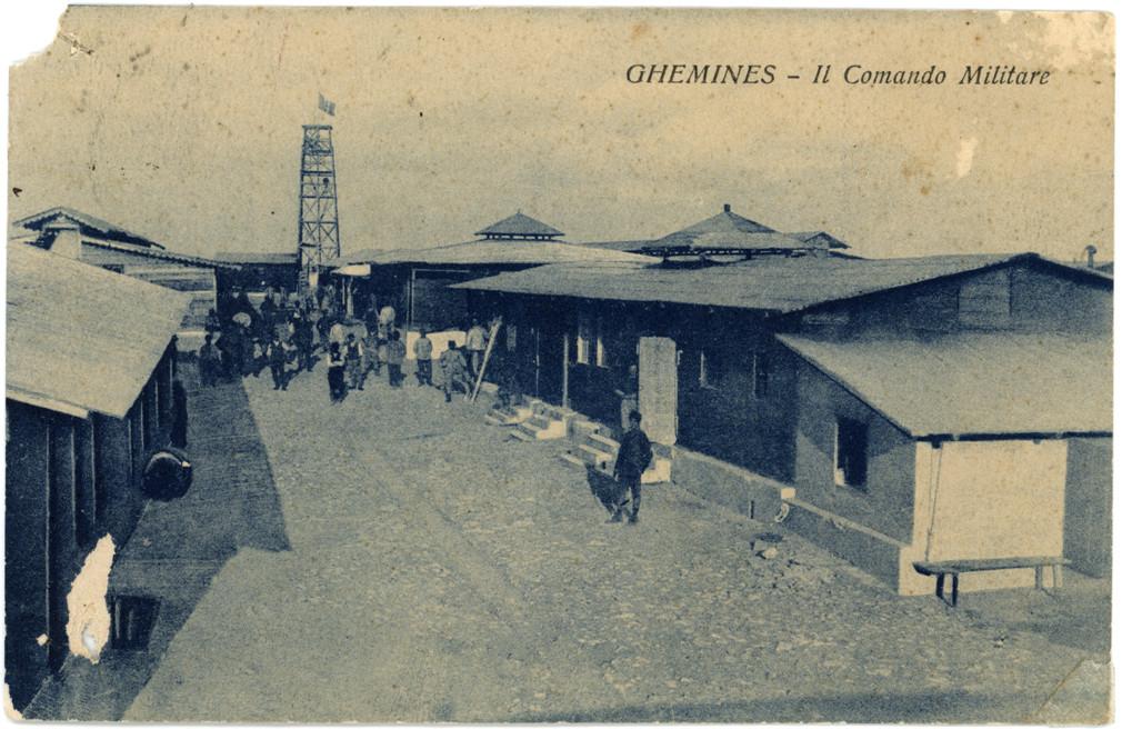 Ghemines, il comando militare