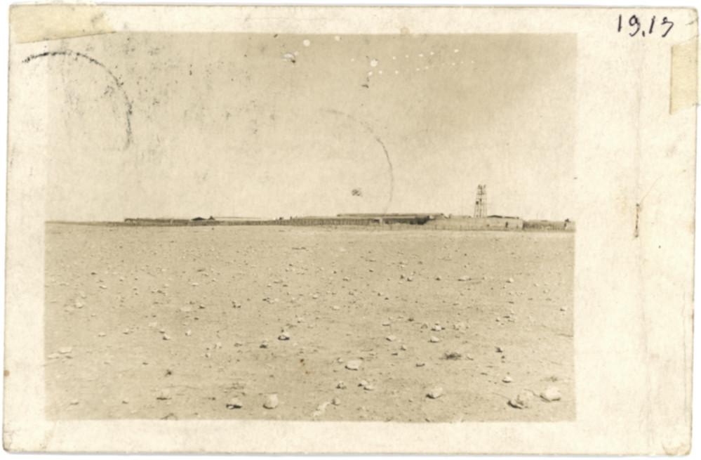 """Il """"ridotto"""" visto dall'esterno, Bengasi 1917"""