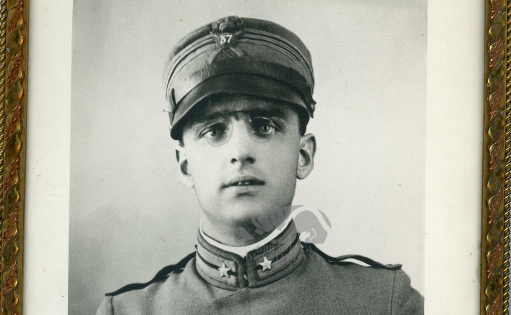 Giuseppe Ambrosini in divisa militare. 1915-1918