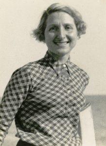 La moglie Nella. 1940-1950 circa